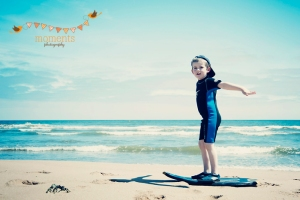 Dylan at Balmedie beach